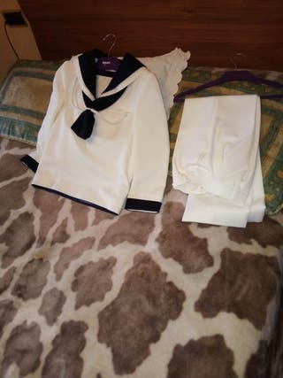 traje comunión talla 8