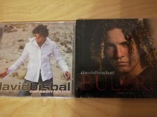 David Bisbal CD's coleccionismo
