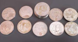 Lote monedas de 12 y 20 euros