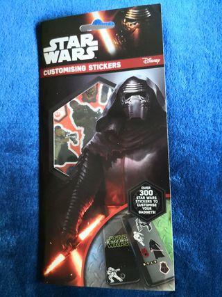 Stickers / Pegatinas Star Wars (NUEVO)