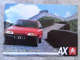 Citroen AX folleto marzo 1987
