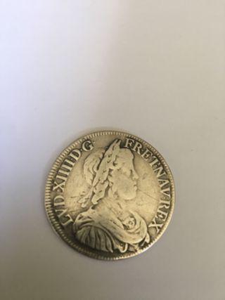 Moneda plata. Numismática