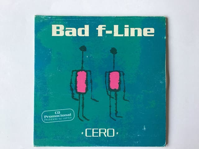 "BAD F-LINE "" CERO "" CD SINGLE"