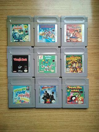 Juegos originales de Gameboy