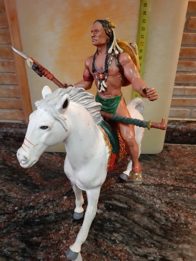 Guerrero Indio. Heroes of the West de Comansi.