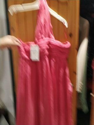 vestido de gasa nuevo de Zara