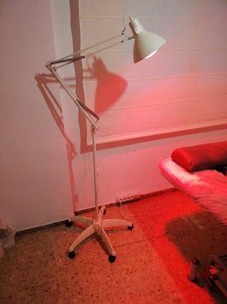lampara de infra-rojos
