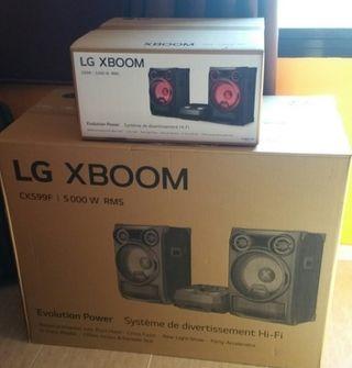 Equipo de música LG CK99 5000W, nuevo