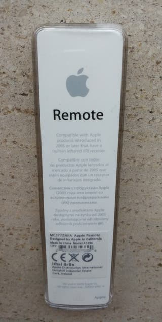Apple remote mando