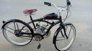 """bicicleta de paseo clásica """"Con motor"""""""