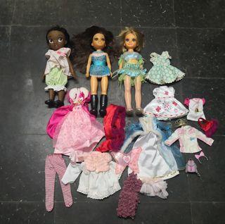 Lote Nancy's y muñeca Disney