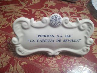 se vende sello de la cartuja de sevilla pickman