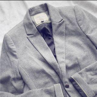 blazer gris Bershka (USADO)