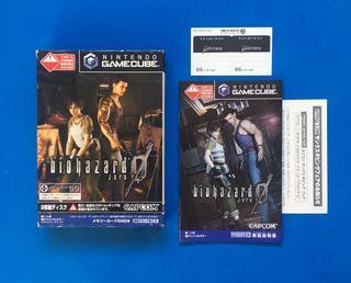 Resident Evil 0 game cube jap