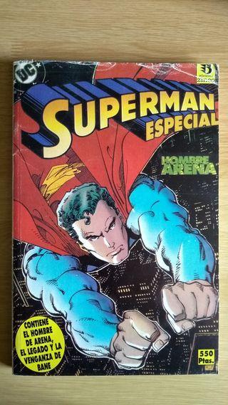 Superman comic retapado