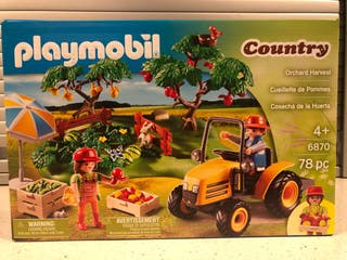 PLAYMOBIL COUNTRY COSECHA DE LA HUERTA 6870