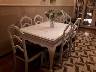 mesa antigua comedor