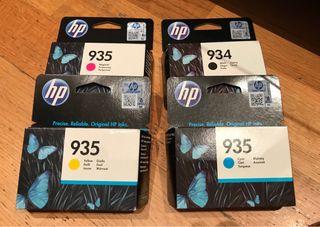 Cartuchos tinta impresora Hp