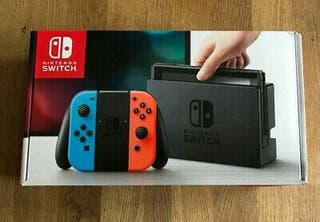 Nintendo switch with accessories