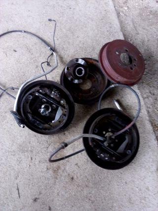 zapatas y tambores ibiza polo fabia