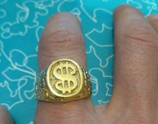 dcfd40e10386 Anillo oro hombre de segunda mano en la provincia de Barcelona en ...