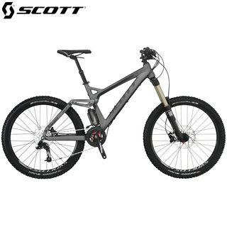 Bicicleta de montaña, descenso o enduro