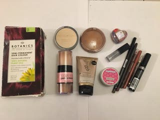 Mix beauty products