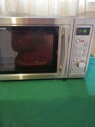 Microondas digital grill