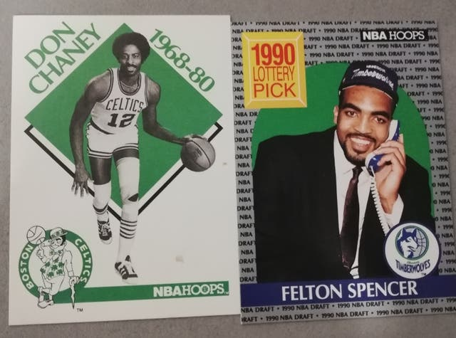 45 Cromos-Cartas NBA HOOPS