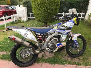 Yamaha wr 450 rally jvo