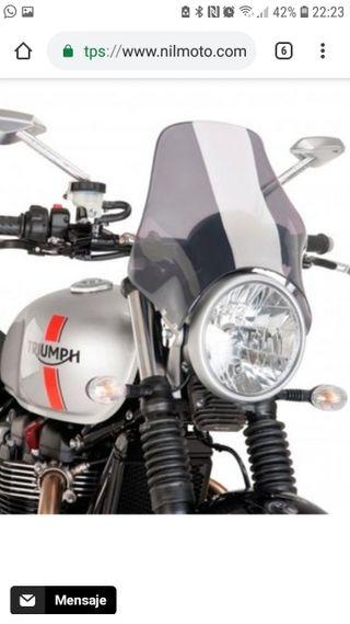 Cúpula Universal para Moto Naked