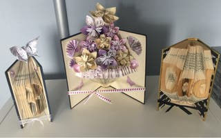 Book Folding, handmade presents