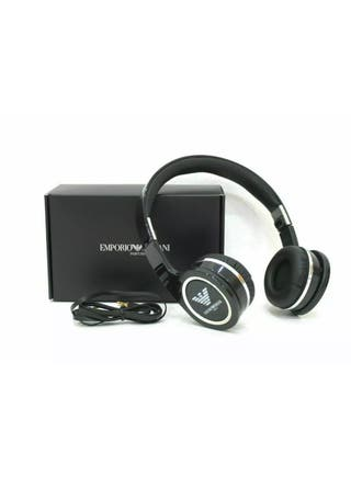 Emporio Armani Black Headphone