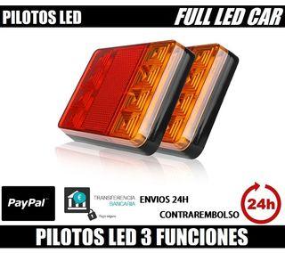 2 PILOTOS LED PARA REMOLQUE 12V