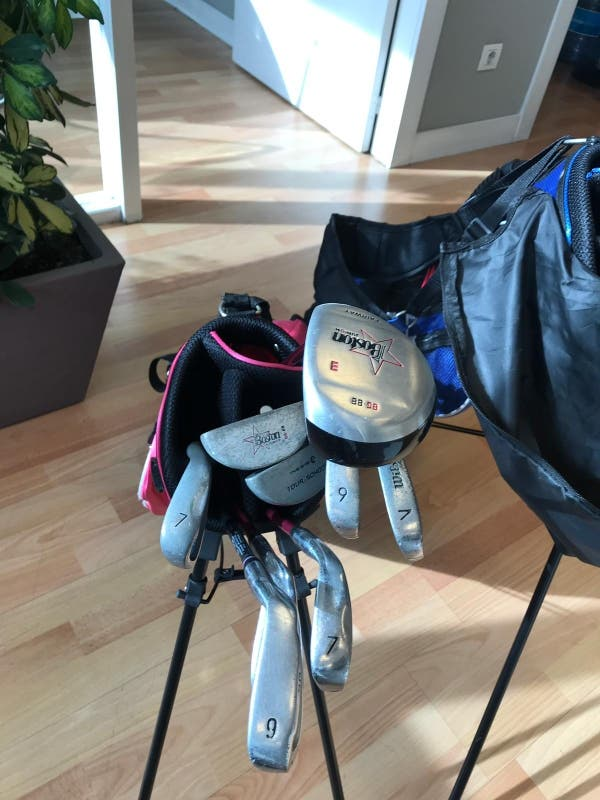 Juego de palos de golf para niños 7-10 años