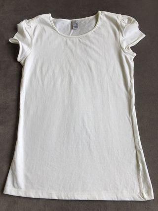 Camiseta blanca 11/12 años