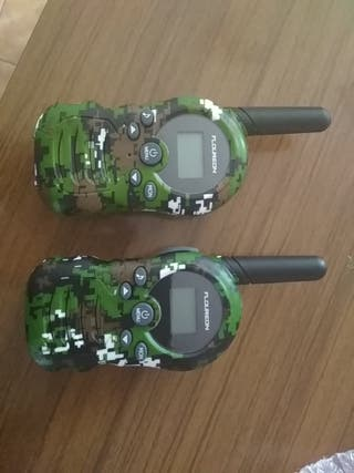 walkies talkies 3km