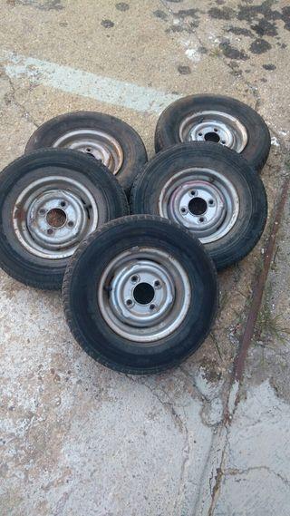ruedas llantas mini antiguo