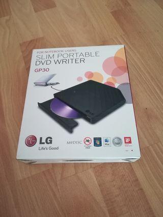 Lector de DVD y grabador externo