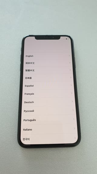 iphone X 64 gb casi nuevo