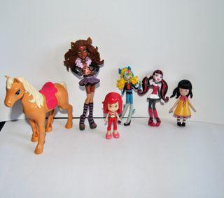 Muñecas pvc