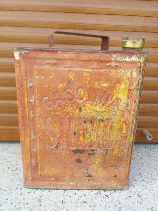 lata gasolina