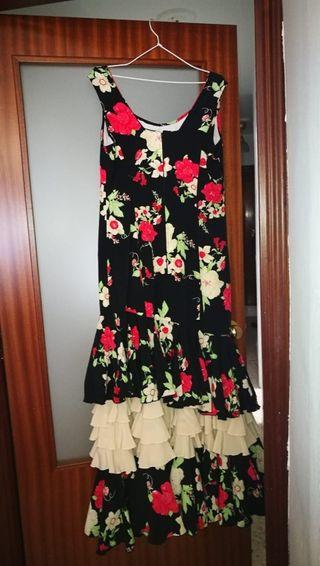 Vestido flamenca (feria) Talla XL muy cuidado