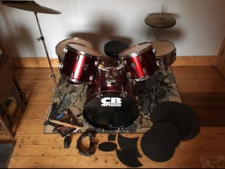 CB Drum Kit (No Snare Stand)