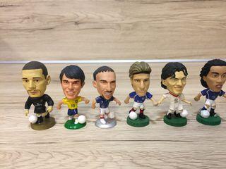 Lote 6 de jugadores de futbol