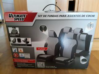 Set fundas asientos coche