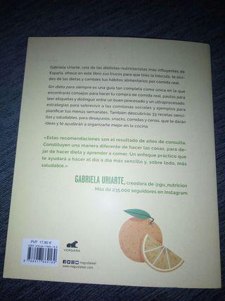Libro para hacer dieta