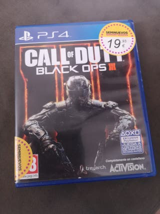 Call of duti black ops 3 ps4