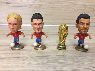 Lote 7 de jugadores de fútbol