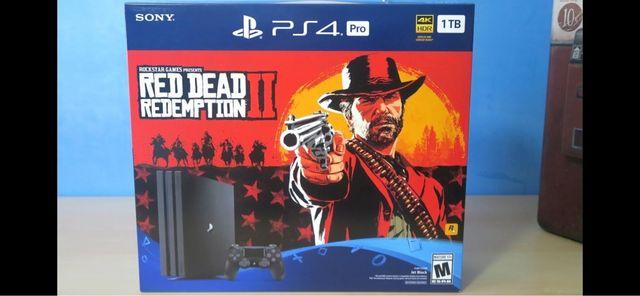 PS4 Pro Red Dead 2 Bundle